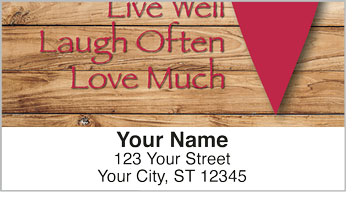 Country Sayings Address Labels