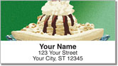 Ice Cream Address Labels