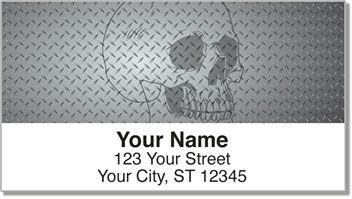 Skull Address Labels