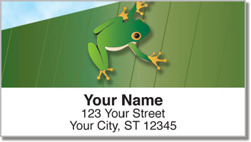 Tree Frog Address Labels
