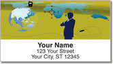 Business Traveler Address Labels