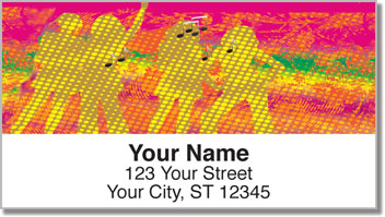 Dance Fever Address Labels