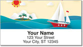 Sailing Adventure Address Labels