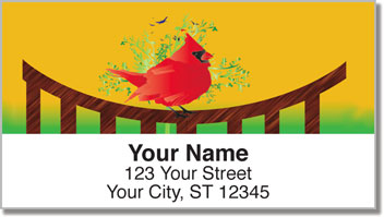 Wings of Spring Address Labels