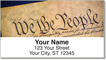 Words of Freedom Address Labels