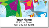 Colorful Kite Address Labels