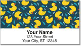Rubber Duck Address Labels