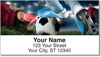 Soccer Address Labels
