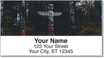 Totem Pole Address Labels