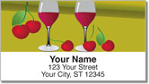 Cocktail Address Labels