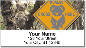 Animals of Australia Address Labels