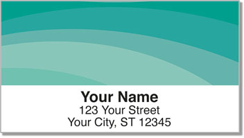 Calming Curve Address Labels