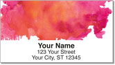 Watercolor Address Labels