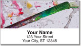 Painter's Palette Address Labels