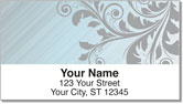 Fancy Scroll Address Labels