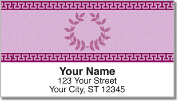 Greek to Me Address Labels