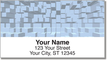 Extruded Blocks Address Labels
