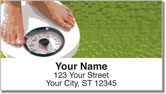 Weight Loss Address Labels