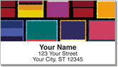 Abstract Art Address Labels