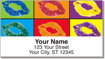 Pop Art Address Labels