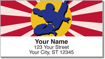 Tae Kwon Do Address Labels