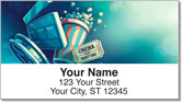 Movie Night Address Labels