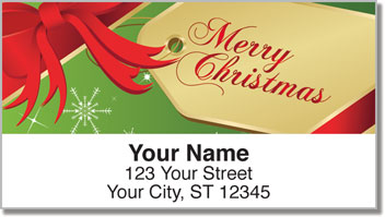 Happy Holidays Address Labels