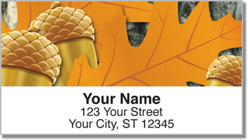 Leaf Collection Address Labels