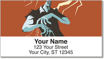 Movie Monster Address Labels