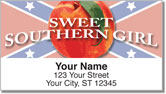 Dixie Girl Address Labels