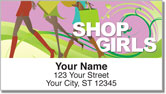 Shopping Queen Address Labels