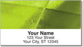Rusted Metal Address Labels