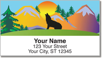 Lone Wolf Address Labels