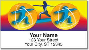 Staying Fit Address Labels