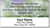 Scripture & Nature Address Labels