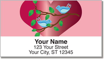 Love Bird Address Labels