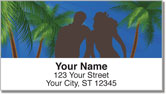 Romantic Hideaway Address Labels
