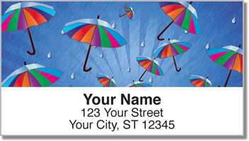 April Shower Address Labels