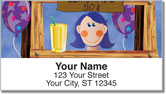 Lemonade Stand Address Labels