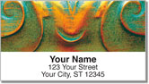 Ornate Curl Address Labels