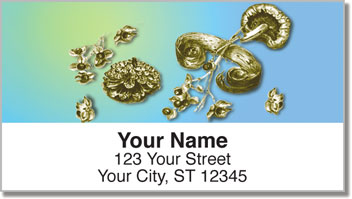Woodland Treasure Address Labels