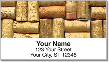 Cork Collection Address Labels