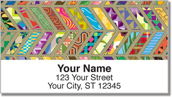 Quilt Pattern Address Labels