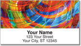 Glass Art Address Labels