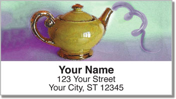 Teapot Address Labels