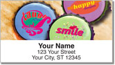 Inspiring Bottle Cap Address Labels