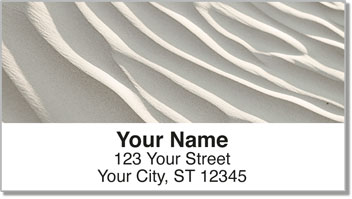 Earth Tone Address Labels
