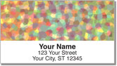 Tissue Paper Address Labels