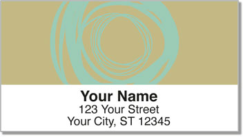 Chalk Glow Address Labels