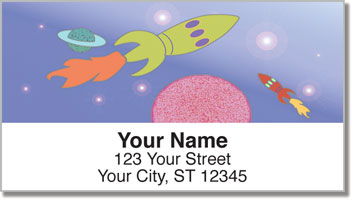 Spaced Out Address Labels
